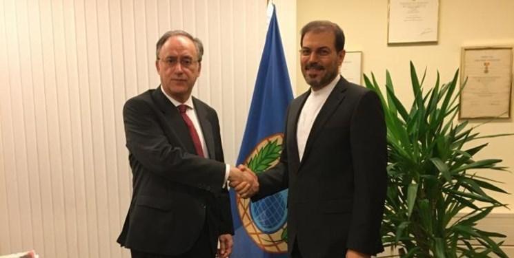دیدار معاون وزیر خارجه ایران با مدیرکل سازمان منع سلاح های شیمیایی