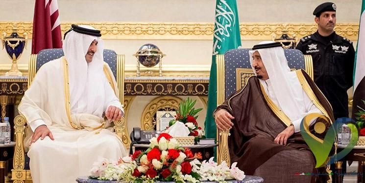دعوت رسمی شاه سعودی از امیر قطر برای حضور در نشست شورای همکاری خلیج فارس