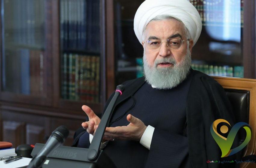 روحانی: اگر منابع در اختیار بانک مرکزی قرار بگیرد، فردا صبح قیمت دلار از ۲۵ به ۱۵ هزار تومان میرسد