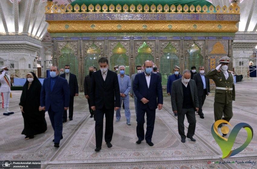 تجدید میثاق مشاور رهبر معظم انقلاب با آرمان های حضرت امام خمینی(س)